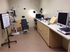 Low Vision Exam Room