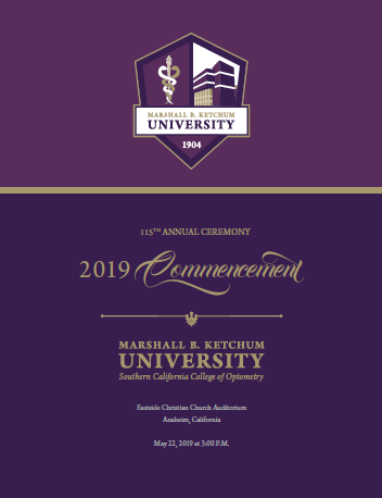 Thumbnail of SCCO Commencement Program