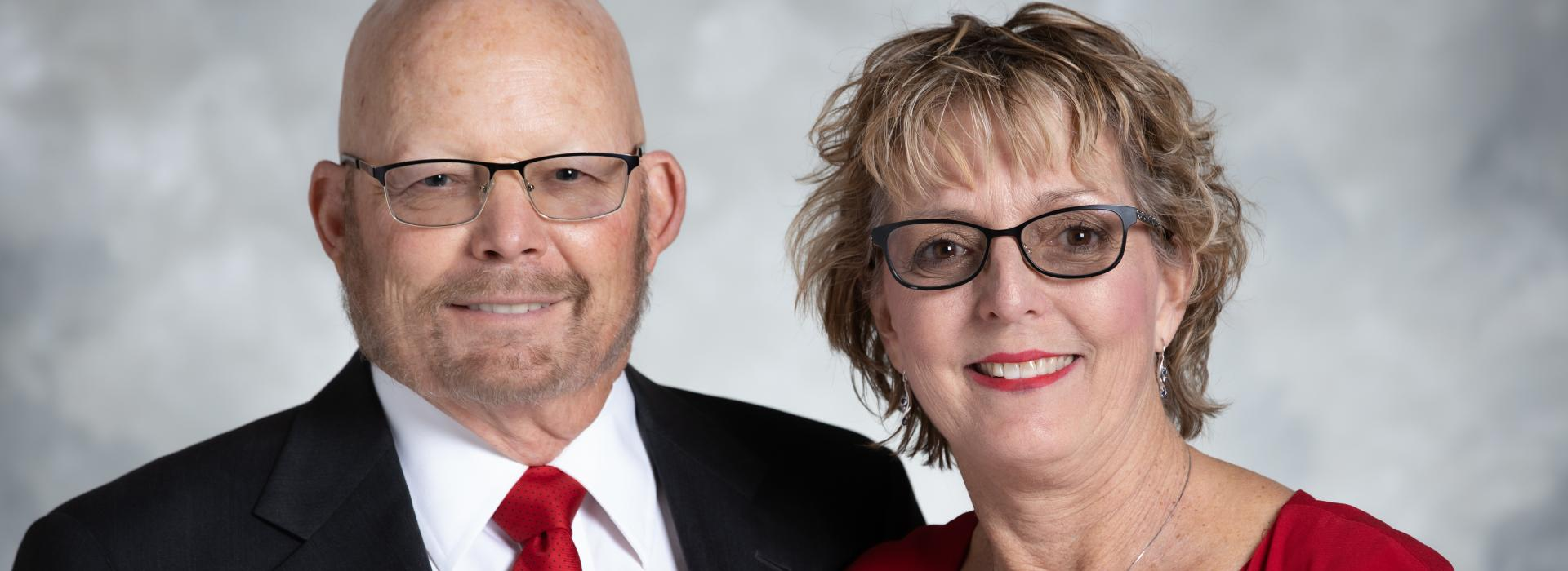 Dr. Michael Sellers '78 and his wife Elizabeth