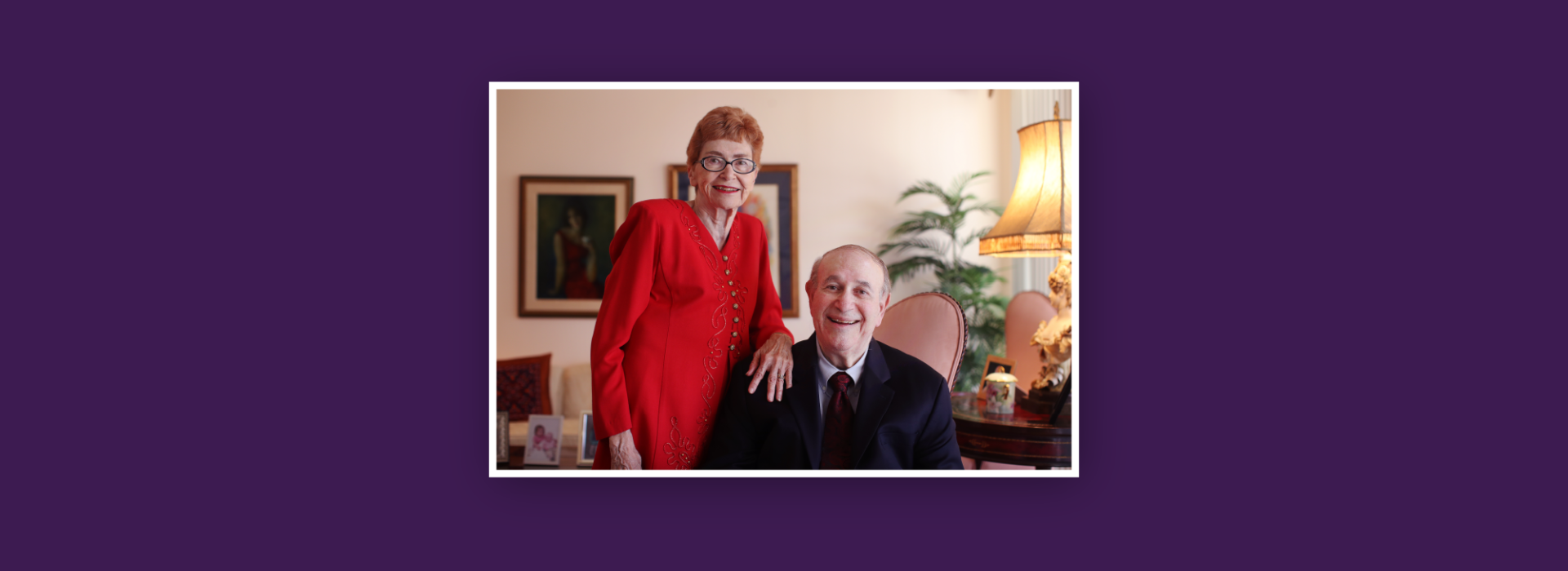 Dr. Morris Applebaum and his wife Arleen Applebaum